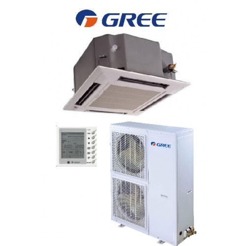 Aer conditionat CASETA GREE cu REFULARE in 4 DIRECTII 42000 BTU DC INVERTER