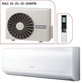Aer conditionat APARAT AER CONDITIONAT HITACHI RAK25PPB 9000 BTU INVERTER GAMA PERFORMANCE